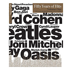 Music Sales Fifty Years Of Hits Volume One « Songbook