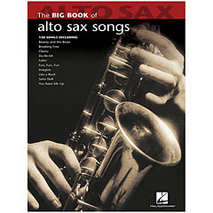 Hal Leonard The Big Book of Alto Saxophone Songs for Alto Sax « Notenbuch