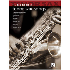 Hal Leonard The Big Book of Tenor Saxophone Songs for Tenor Sa