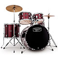 "Drumstel Mapex Tornado 20"" Dark Red Drum Set, Drums, Drums/Percussie"
