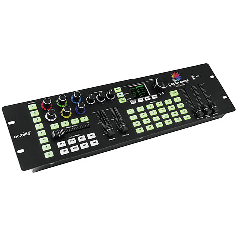 Lichtmischpult Eurolite DMX LED Color Chief Controller