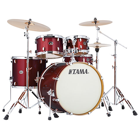 Tama Silverstar 22  Dark Red Sparkle