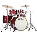 """Drum Kit Tama Silverstar 22"""" Dark Red Sparkle"""