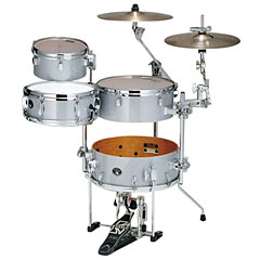 "Tama Silverstar Cocktail-Jam 16"" White Sparkle « Drum Kit"