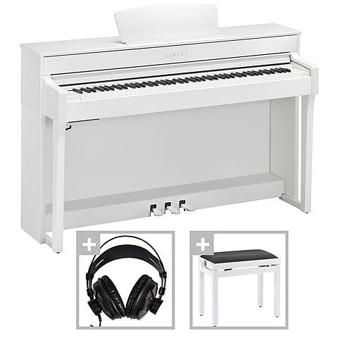 Yamaha Clavinova CLP-635WH Set