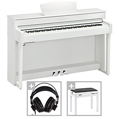 Yamaha Clavinova CLP-635WH Set « Digitale piano