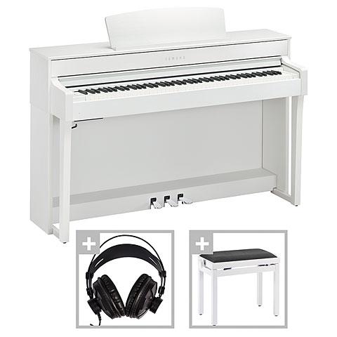 Digitalpiano Yamaha CLP-645WH Set