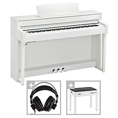 Yamaha CLP-645WH Set « Digitale piano