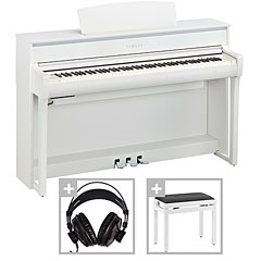 Yamaha CLP-675WH Set « Piano digital