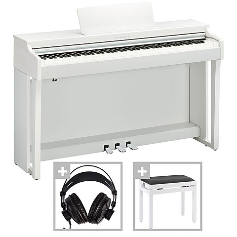 Piano digital Yamaha CLP-625WH Set