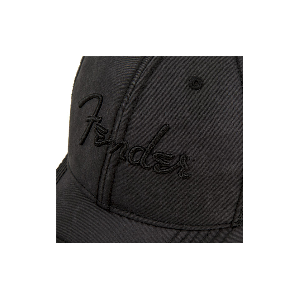 ... Cap Fender Blackout Trucker Hat 9af467d0054b