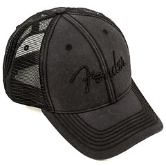 Fender Blackout Trucker Hat, One Size « Gorra
