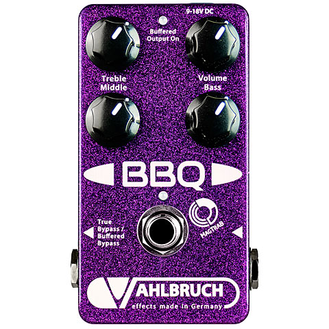 Pedal guitarra eléctrica Vahlbruch BBQ