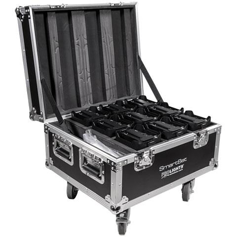 Prolights Flightcase for 9 x Smartbat