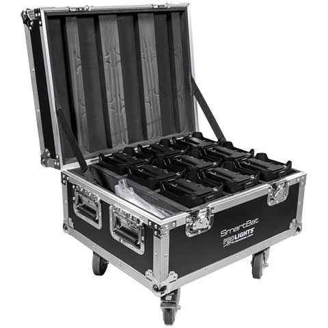 Prolights Smartbat Flightcase für 9 Stk.