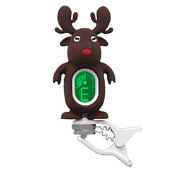 "Swiff A7 Clip On Tuner ""Reindeer"" Brownish Black « Tuner"