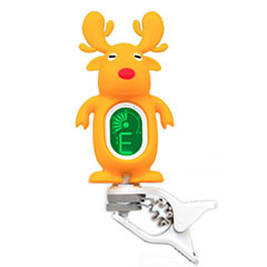 "Swiff A7 Clip On Tuner ""Reindeer"" Yellow « Afinador"