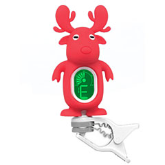 "Swiff A7 Clip On Tuner ""Reindeer"" Red « Afinador"