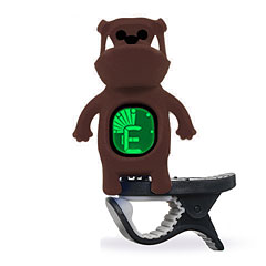 "Swiff B71 Clip On Tuner ""Bulldog"" Brown « Afinador"