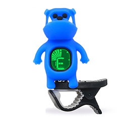 "Swiff B71 Clip On Tuner ""Bulldog"" Blue « Afinador"