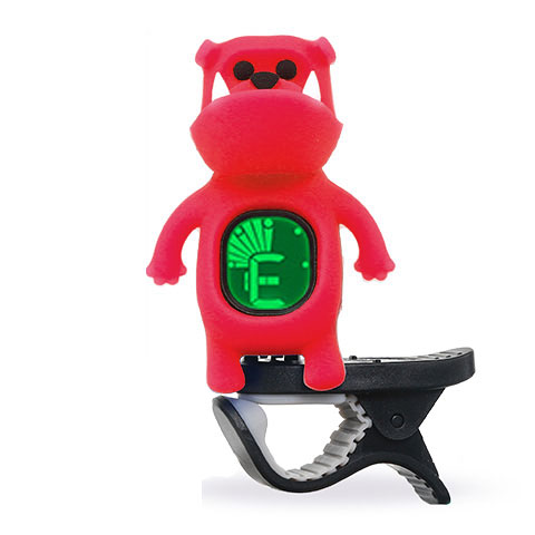 "Accordeur Swiff B71 Clip On Tuner ""Bulldog"" Red"