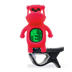 "Swiff B71 Clip On Tuner ""Bulldog"" Red « Afinador"