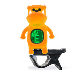 "Swiff B71 Clip On Tuner ""Bulldog"" Yellow « Afinador"