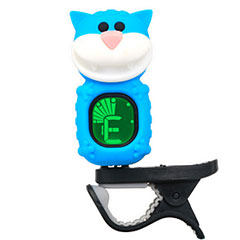 "Swiff B72 Clip On Tuner ""Cat"" Blue « Afinador"