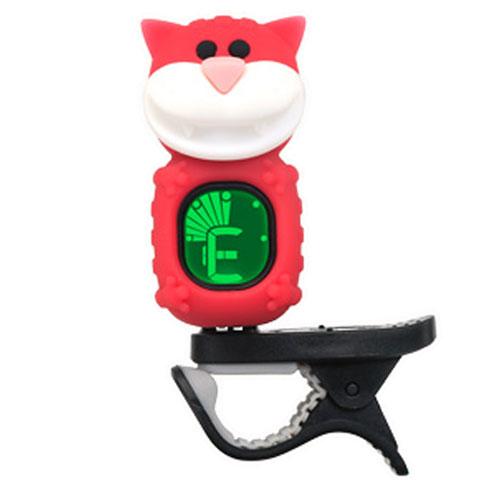 Swiff B72 Clip On Tuner  Cat  Red