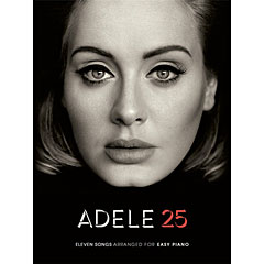 Music Sales Adele 25 - Eleven Songs Arranged for Easy Piano « Нотная тетрадь