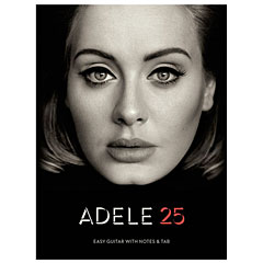 Music Sales Adele 25 - Easy Guitar with Notes & Tab « Libro de partituras