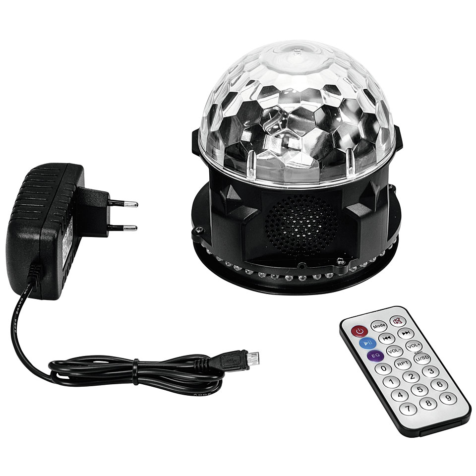eurolite akku mini bcw 4 rgb flower lampe batterie. Black Bedroom Furniture Sets. Home Design Ideas