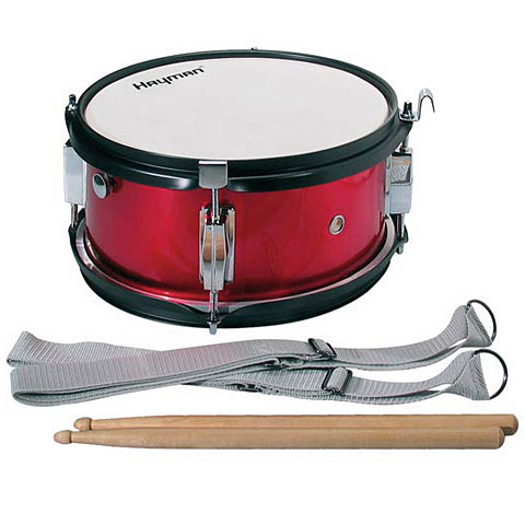 Marching - Hayman 10 Red Junior Marching Snaredrum Kleine Trommel - Onlineshop Musik Produktiv
