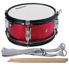 "Hayman 12"" Red Junior Marching Snaredrum « Caisse claire de fanfare"