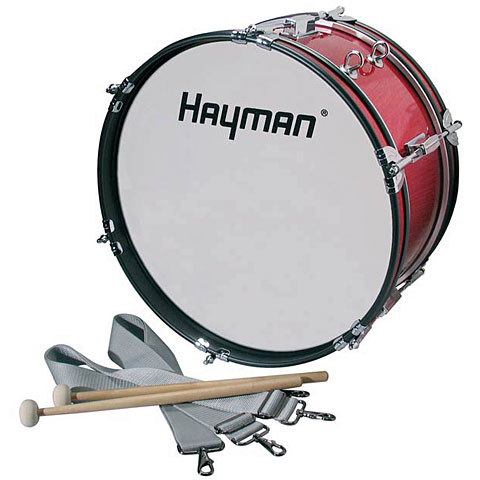 "Hayman 16"" Red Junior Marching-Bassdrum"