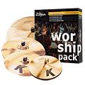 Pack de cymbales Zildjian K Custom Worship Pack 14HH/16C/18C/20R