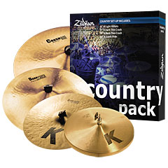 Zildjian K Country Music Pack « Bekken set