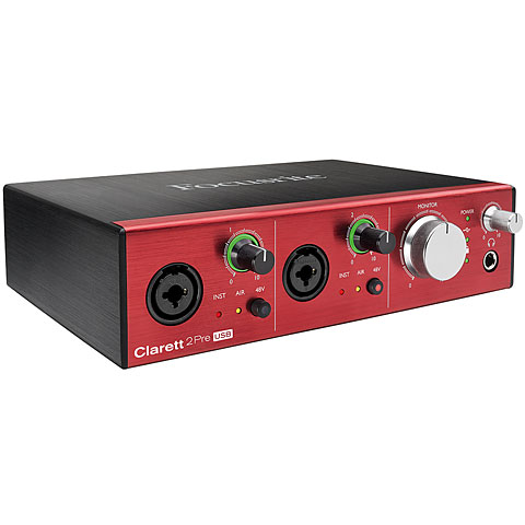 Audio Interface Focusrite Clarett 2Pre USB
