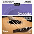 Cuerdas bajo acústico D'Addario EXPPBB190GS