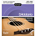 D'Addario EXPPBB190GS « Acoustic Bass Strings