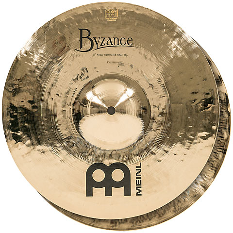 Meinl 14  Byzance Brilliant Heavy Hammered Hihat