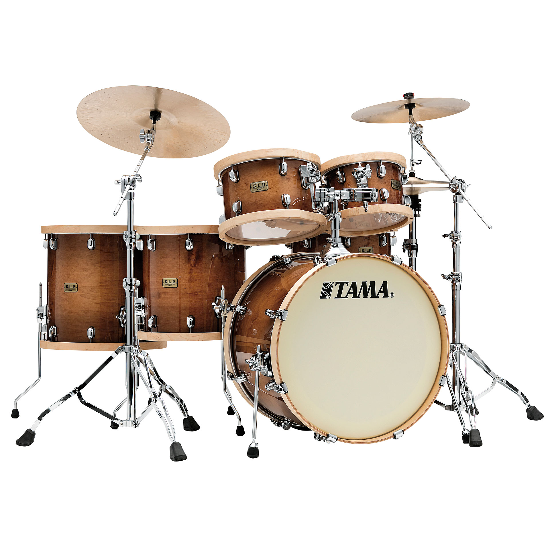 tama s l p 5 pcs studio maple drumset drum kit. Black Bedroom Furniture Sets. Home Design Ideas