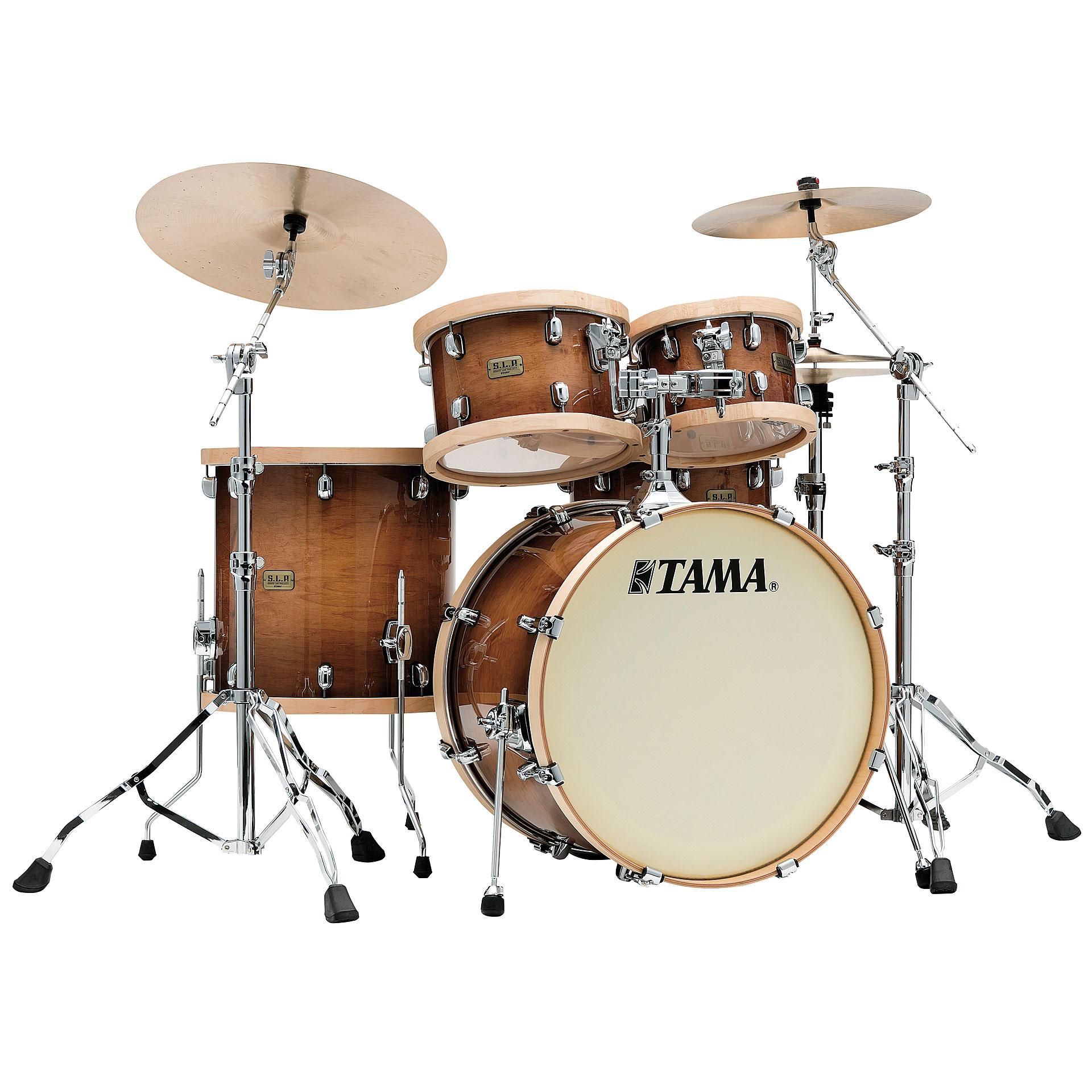 Schlagzeug Tama SLP 4 Pcs Studio Maple Drumset