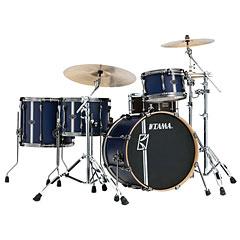 "Tama Superstar Custom Hyperdrive 20"" Satin Blue Vertical Stripe « Schlagzeug"