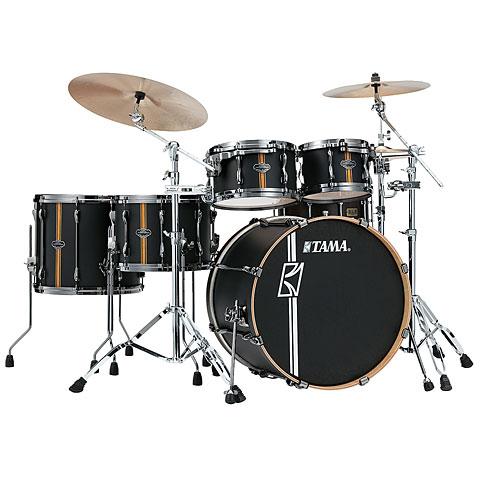 "Schlagzeug Tama Superstar Custom Hyperdrive 22"" Flat Black Vertical Stripe"