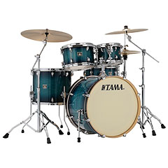 "Tama Superstar Classic 22"" Blue Lacquer Burst « Drum Kit"