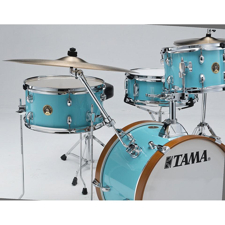 "Tama 18 Floor Tom: Tama Club Jam 18"" Aqua Blue Shellset « Drum Kit"