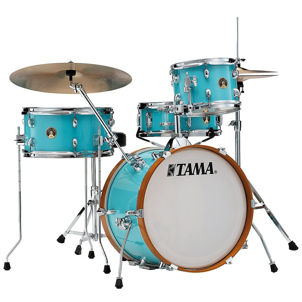 Akustikdrums - Tama Club Jam 18 Aqua Blue Shellset Schlagzeug - Onlineshop Musik Produktiv