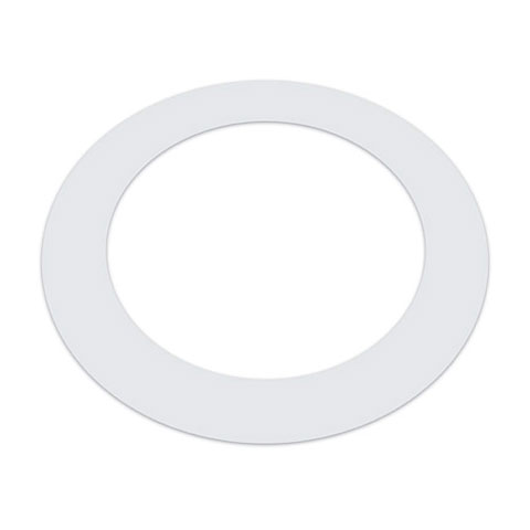 "Drum head accessoires KickPort Kickport 5"" White T-Ring"