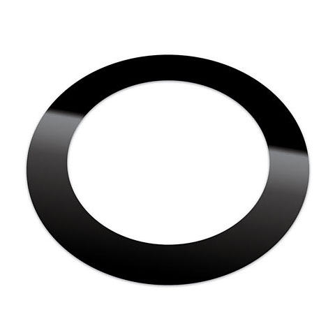 "Drumhead accessories KickPort Kickport 5"" Matte Black T-Ring"